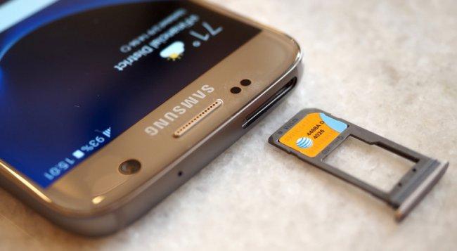 Samsung объяснила, почему Galaxy S6 лишился слота для microSD