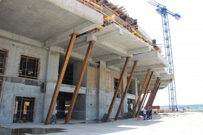 На «Мордовия Арене» закончили строительство третьего этажа