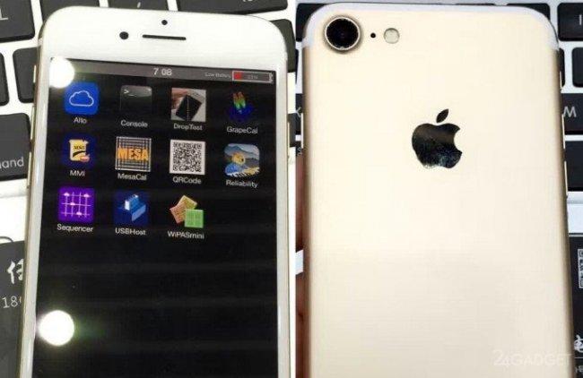 Появилось видео рабочего iPhone 7