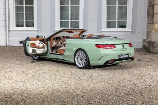 Ретро стильный Mercedes-Benz S-Class