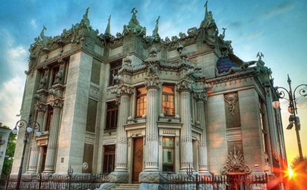 Мариинский дворец и Дом с химерами
