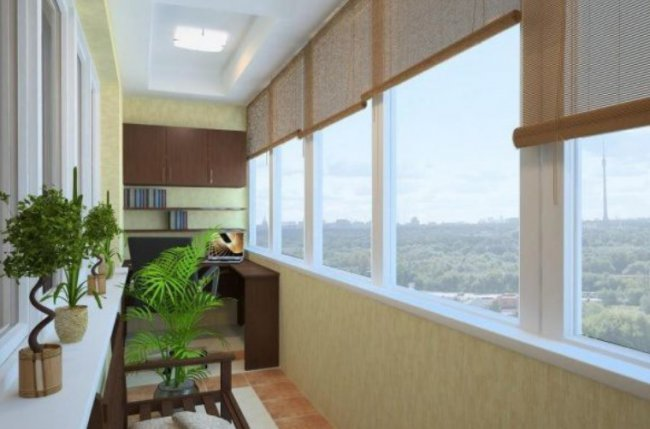 Свежие идеи оформления балкона