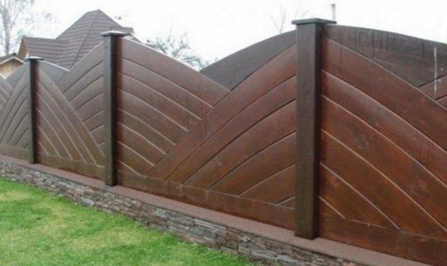 Деревянные заборы для дома и дачи