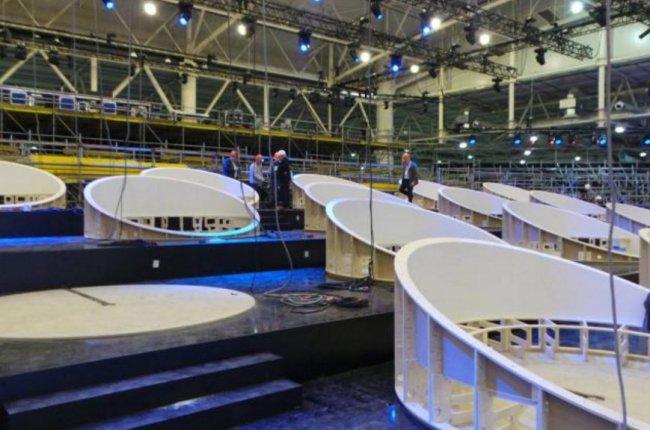 Организаторы конкурса «Евровидение 2017» показали журналистам сцену