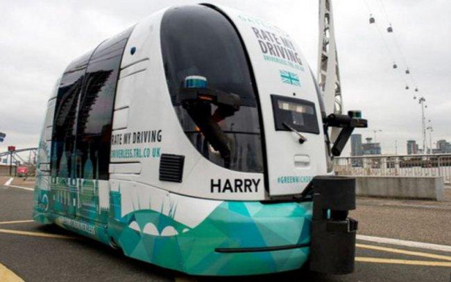 В Лондоне пассажиров будут возить беспилотные автобусы