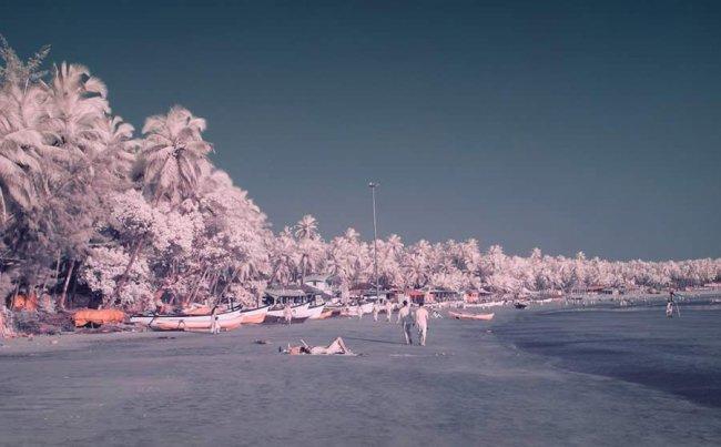 Серия фотографий с Гоа в межсезонье