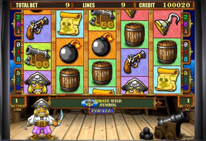 игровые автоматы акуленок остров пираты