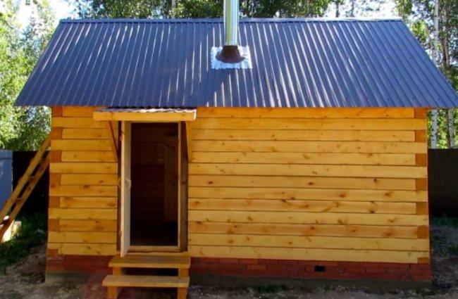 Дом и баня из бруса – как реализовать мечту?