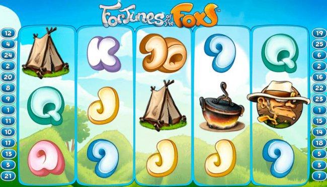 Игровой автомат «Foxy Fortunes» в «Вулкан» - яркие впечатления