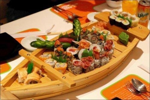 Какие существуют правила подачи суши и роллов 2