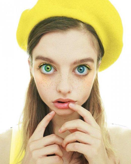 Мария Оз - девушка с инопланетным взглядом стала известной моделью