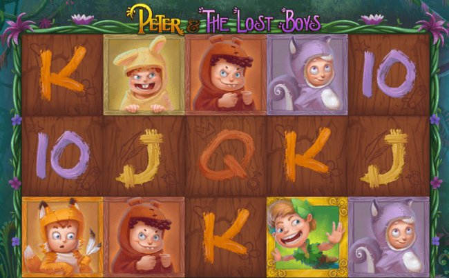 Игровой автомат Peter and the Lost Boys