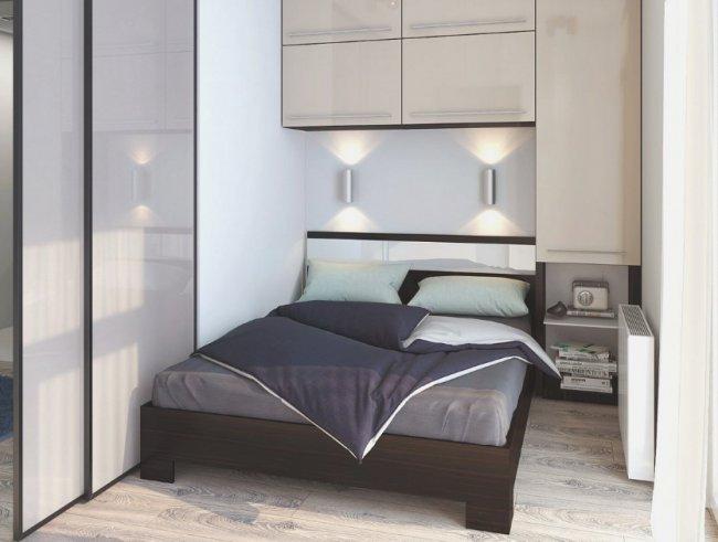 Как обустроить маленькую спальню: выбираем стиль
