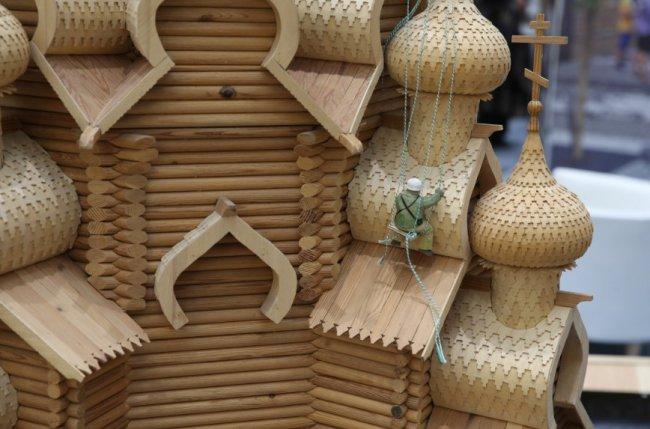В Гостиноо  дворе в Москве открылась международная реставрационная выставка