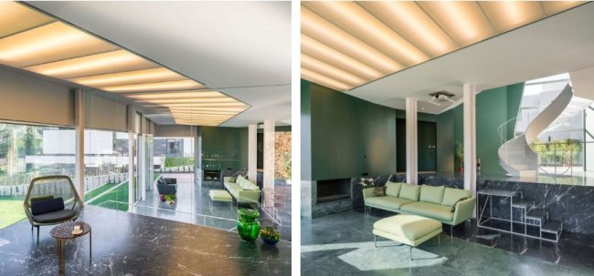 В Мадриде построен необычный дом, идеально сочетающийся с природой