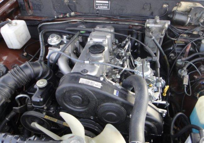 Контрактный двигатель Митсубиси