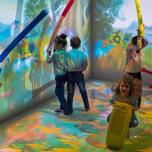 Парк дети интерактивный организация